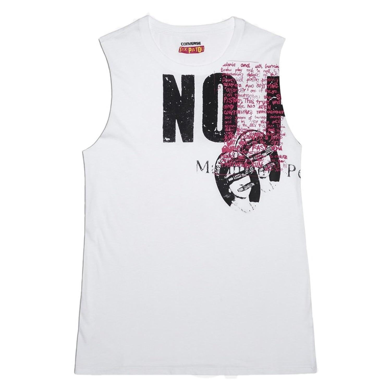 Converse Womens Sex Pistols No Future Muscle Tee White (10000098)