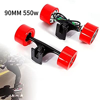 GDAE10 90mm Dual 6364 Hub Motors Drive Kit for Electric Skateboard Longboard Part 550w (US Stock) by GDAE10