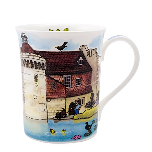 Alison Gardiner National Trust range - Scotney Castle Fine Bone China Mug