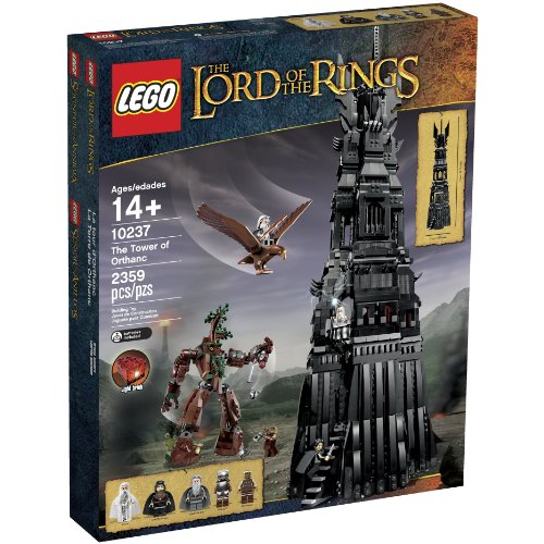 LEGO Lord of the Rings 10237 Tower of Orthanc Building Set (Discontinued by manufacturer) -