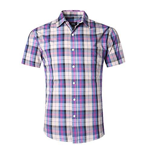 Cotton Adults Short Sleeve Shirt - 9