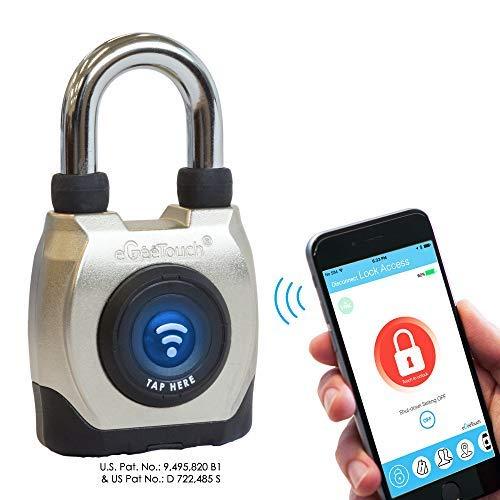 eGeeTouch Outdoor Smart Padlock 3rd Gen, Weatherproof, Bluetooth + NFC (Short Shackle) by eGeeTouch (Image #3)