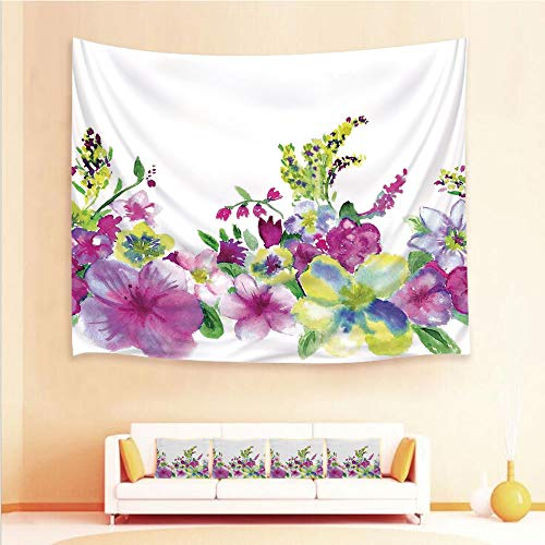 iPrint 1pcs Hanging Tapestry 4pcs Pillow case,Wall Hanging