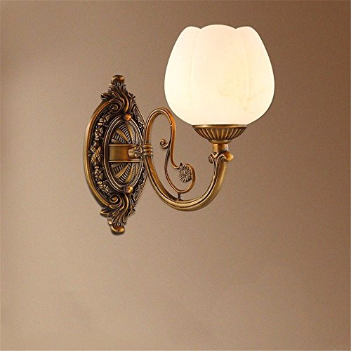 LED Wall Lights Wall Sconce Light Fixture Up Down Decorative Wall Lighting Wall Lamps Faux Marble Light-Copper Living Room Bedroom Bedside lamp Antique Passage corridors.