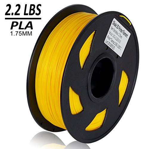 Dikale-PLA-3D-Printer-Filament-1KG335m1099ft-175mm-Dimensional-Accuracy-002-mm-1KG-Spool-175-mm-Yellow