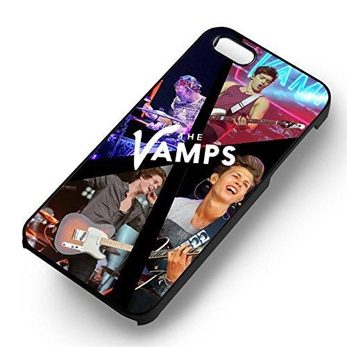 The Vamps On Stage pour Coque Iphone 6 et Coque Iphone 6s Case (Noir Boîtier en plastique dur) O5Z2WS