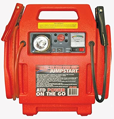 ATD Tools 5926 12V 1700 Peak Amp Jumpstart with Built-in Air Compressor