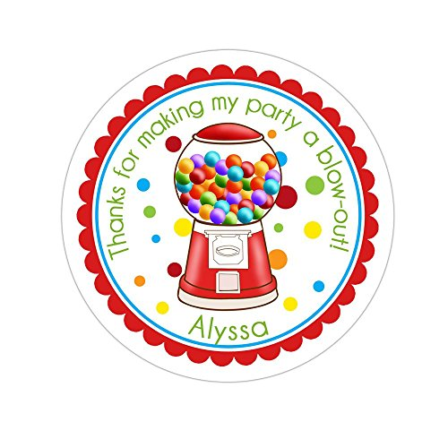 Personalized Gumball Machine - 4