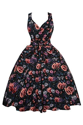 Looking Glam - Vestido - Sin mangas - para mujer negro