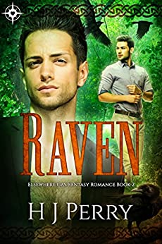Raven: Elsewhere Gay Fantasy Romance by [Perry, H J]