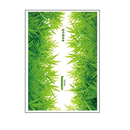 (Bathroom Stickers Wall Decor | 3D Fresh Green Grass Baseboard Bathroom PVC Wall Stickers | Skirting Kids, Living Room, Bedroom, Bathroom, Kitchen, Nursery, Home Decor)