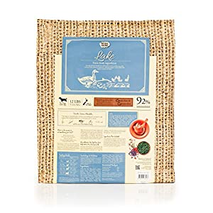 Wishbone Pet Foods - Grain free, Gluten Free, Natural Dry Dog Food with Duck, For All Life Stages - 12 lb Bag