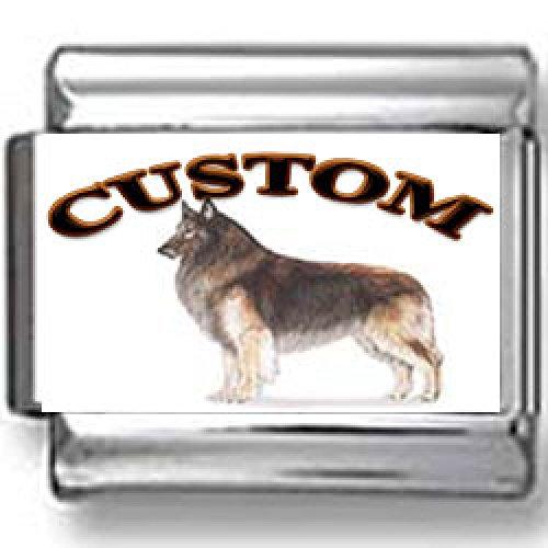 Belgian Tervuren Dog Custom Photo Italian Charm