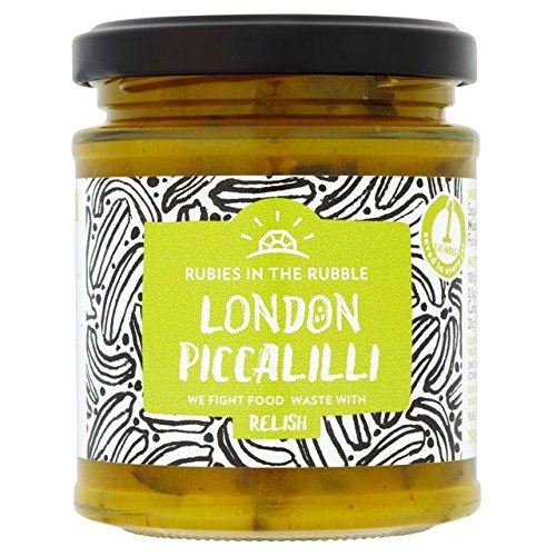 Rubies in the Rubble London Piccalilli - 210g (0.46lbs) (Ruby Relish)
