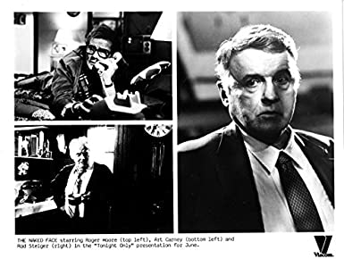 MOVIE PHOTO: THE NAKED FACE-1984-ROGER MOORE-ART CARNEY-B