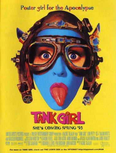 Girls Movie Poster (Tank Girl 27x40 Movie Poster (1995))