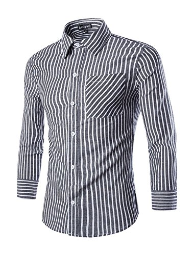 Inside Out Striped Shirt - 7