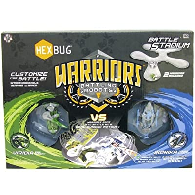 Hexbug Warriors Battle Stadium With Battling Robots by Innovation First