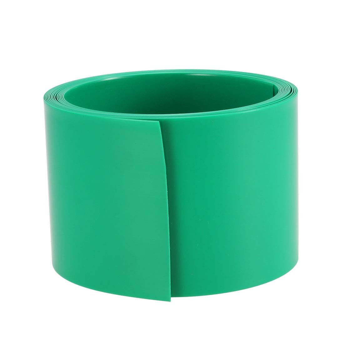40mm Wide Wide PVC Retractable Tube for DIY 2 Meters Green