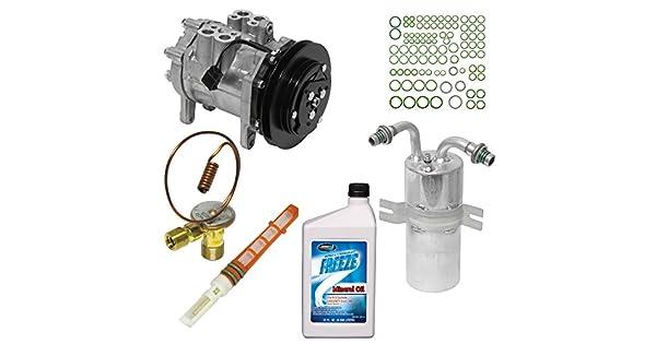 A//C Compressor /& Component Kit-Compressor Replacement Kit UAC KT 4566