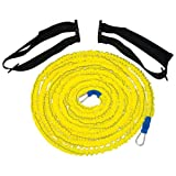 Power Systems Speed Harness Kit with 2 Standard Waist Belts and Medium Resistance Bands (10302)