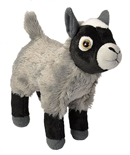 Goat Stuffed Animal (Wild Republic Goat Plush, Stuffed Animal, Plush Toy, Gifts for Kids, Cuddlekins 8)