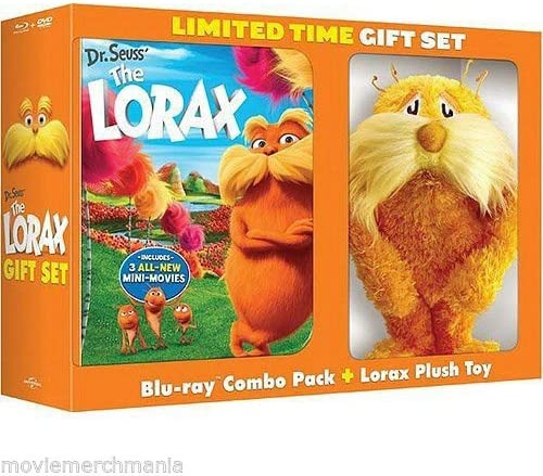 Dr. Seuss' The Lorax Blu-ray + DVD + Digital Copy + UltraViolet LIMITED EDITION With Plush Toy [Blu-ray]