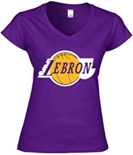 Amazon.com : Majestic LeBron James Los Angeles Lakers #23 Womens ...