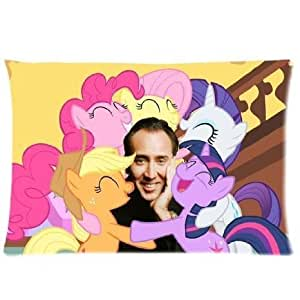 Customize Nicolas Cage Custom Zippered Pillowcase Standard Size 16x24 inch Two Side by supermalls