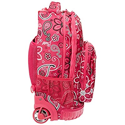 Rockland Single Handle Rolling Backpack: Clothing