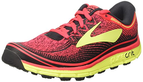 Womens Nightlife Diva 6 Black PureGrit Pink Brooks pwq11