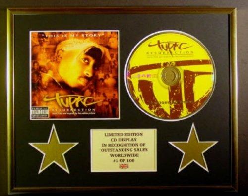 TUPAC/CD Display/Limitata Edizione/Certificato di autenticità /THIS IS MY STORY Everythingcollectible
