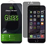 Dmax Armor [2-Pack] for Apple iPhone 6/6S (Privacy) Anti-Spy Screen Protector, [Tempered Glass]