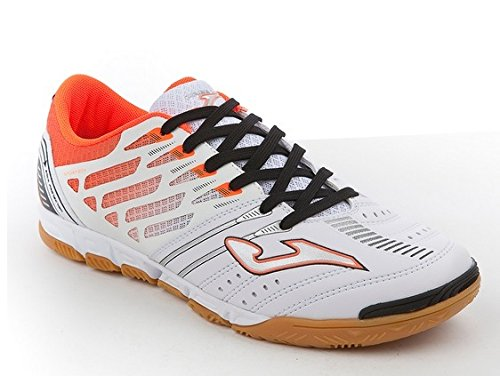 Joma – Free 1.0. 502 WHITE-ORANGE Indoor sala fre1 W.502.PS