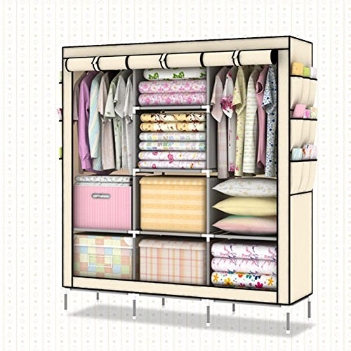 portable wardrobe with cover instructions