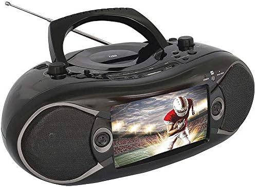 Naxa ndl-257 pantalla LCD TFT de 7 Reproductor de DVD portátil con sintonizador de TV Radio AM/FM Negro: Amazon.es: Bricolaje y herramientas