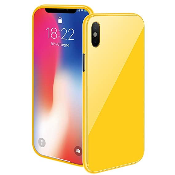 iphone xs yellow case