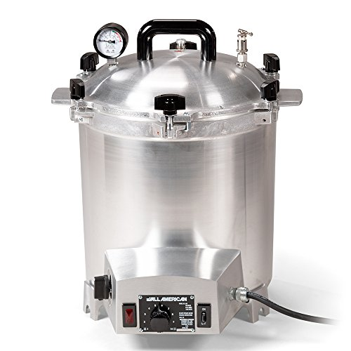 All-American Electric 25 Quart 1650 Watts/13.75 amps Sterilizer