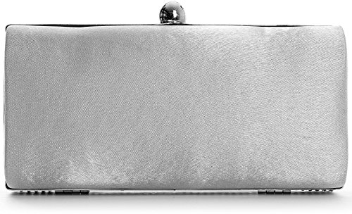 Big Handbag Shop - Cartera de mano para mujer One Negro