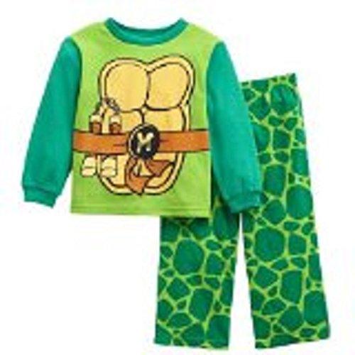 Teenage Mutant Ninja Turtle Michael Angelo 2 Pc Fleece Pajama Set
