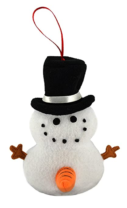 Tekky Toys Naughty Dirty Talking Snowman Funny Tree Ornament With 3  Hilarious Quotes For The