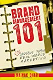 Brand Management 101, Mainak Dhar, 0470822295