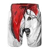 DSWAA Dai Shengdan Hat Dog/Men's Brand New Quick-Drying Board Shorts