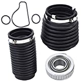 labwork Transom Bellows Seal Kit Fit for Sierra 18-2772-1 Volvo SX