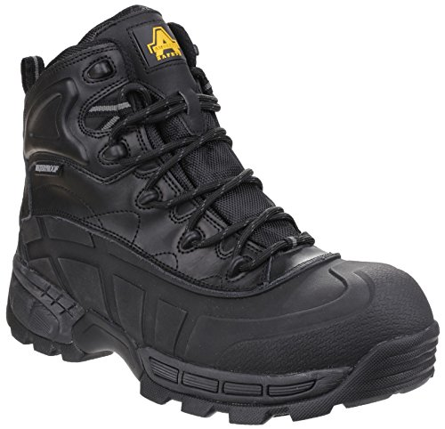 Amblers FS430 Orca S3 Waterproof Safety Work Boots Black 6-12 Lightweight...