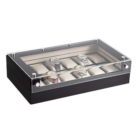 LIYANSBH - Cajas para relojes Organizador de Caja de Reloj ...