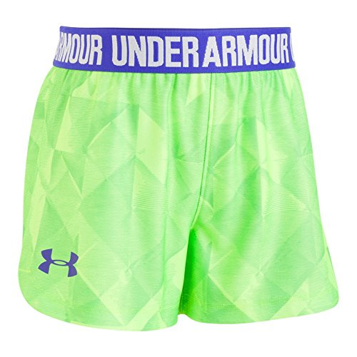 Under Armour Little Girls' Play up Short,Arena Green,5 (Short Girls Little)