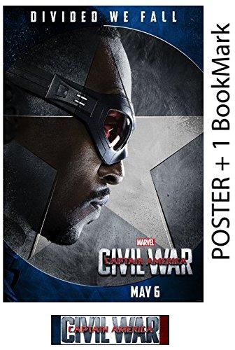 FALCON - Captain America: Civil War - Movie Poster, Size 24