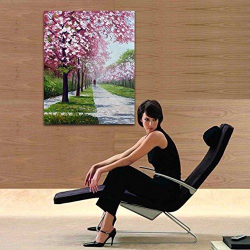 Amazon.com: STJK$BMJW Hand Painted Oil Landscape Art ...