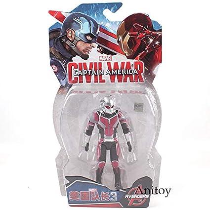 Viet FX Marvel Toys The Avengers Civil War Captain America Iron Man War  Machine Ant Man c041a5648ba7